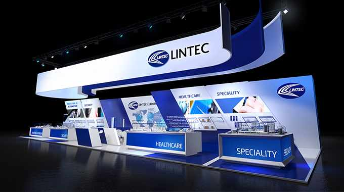 Lintec's stand design for Labelexpo Europe