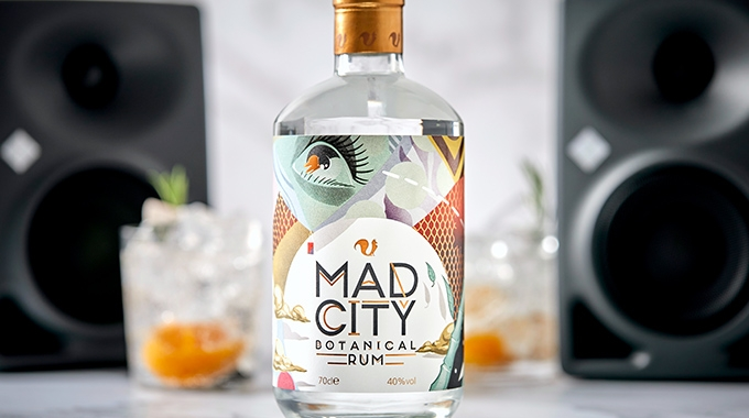 Mad City Botanical Rum's label printed by a UK-based converter Reflex Labels, has been awarded a silver medal in the prestigious Harper's Wine & Spirit Design Awards 2020