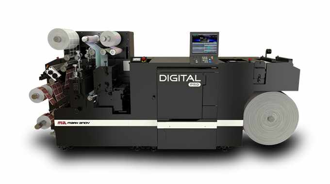 New Mark Andy Digital Pro 3 press