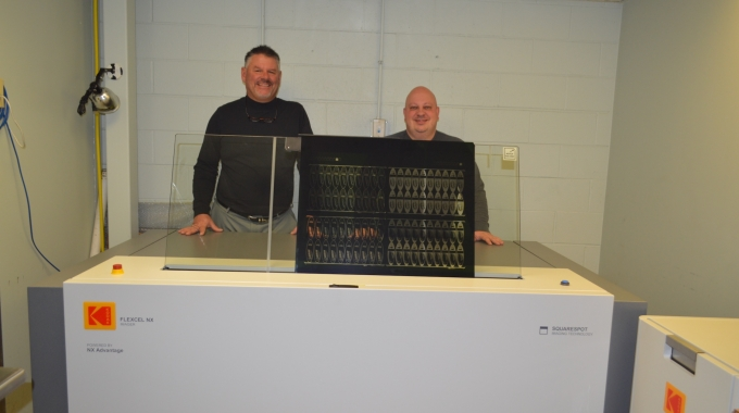 Steve Danosky, President of T&L Graphic Systems (left) and Joseph Maruska, Vice President of T&L Graphic Systems (right)