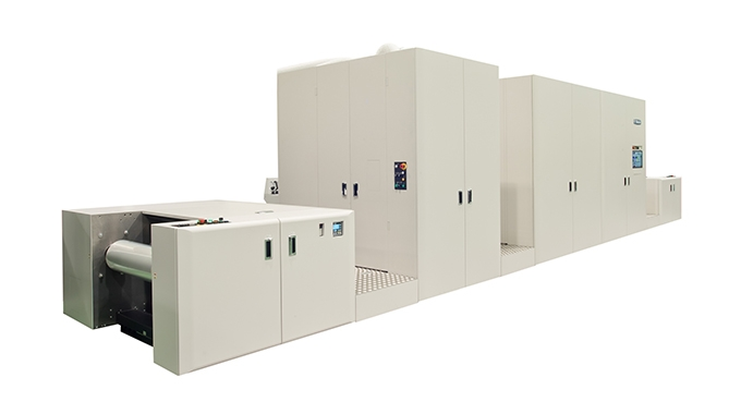 Miyakoshi has launched a new inkjet press for flexible packaging, the MJP30AXF