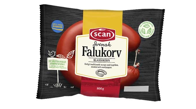 Mondi has collaborated with a Nordic food manufacturer HKScan to provide renewable packaging for its Falukorv sausage by switching from an unrecyclable plastic multi-layer material to a paper-based alternative