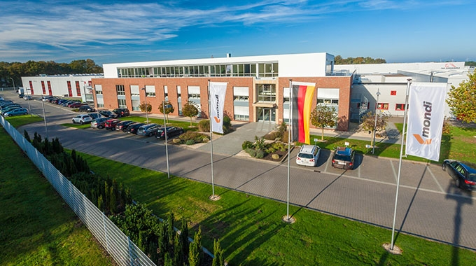 Mondi's Steinfeld production plant in Germany has been certified as CO2 neutral for its manufacturing processes