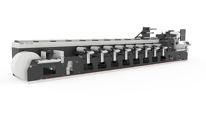 tygraf has invested in an MPS EFS flexo printing press