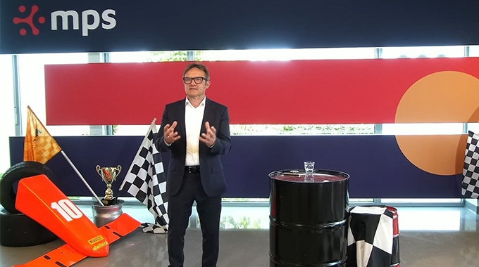 Atze Bosma, CEO of MPS during the MPS Grand Prix of Performance event