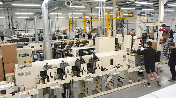 Aztec Label has confirmed an investment in a Nilpeter FB3300 4-color label printing press