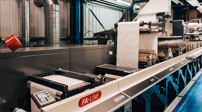 Bailprint Labels has invested in a Nilpeter FA-17 press to increase its production capacity