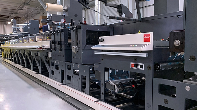 Western Shield Label Company has installed a new Nilpeter FA-17 at the company's location in Los Angeles, California