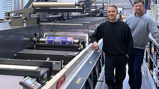 Etiflex has acquired a Nilpeter FA-22 press to increase efficiency and cost-effectiveness