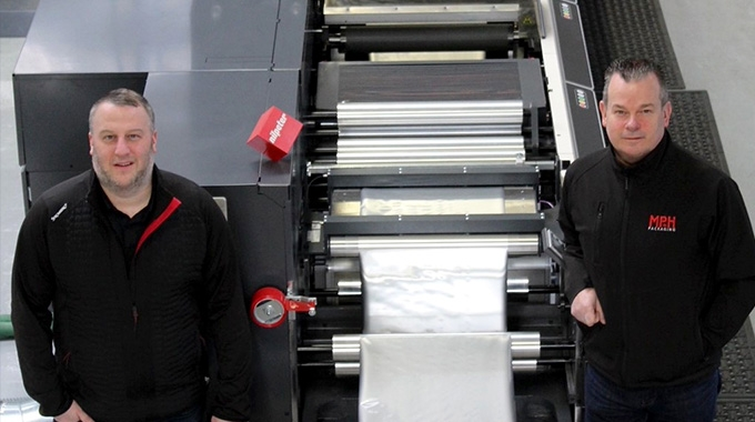 MP+H Packaging has acquired a Nilpeter FA-22 press to expand capacity and keep up with the demand brought about by Covid-19
