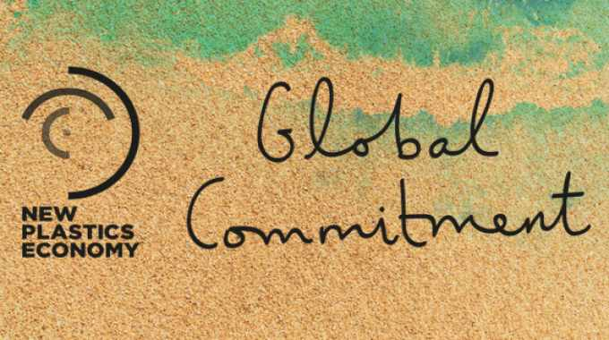 The labels and packaging supply chain has signed up to the New Plastics Economy Global Commitment