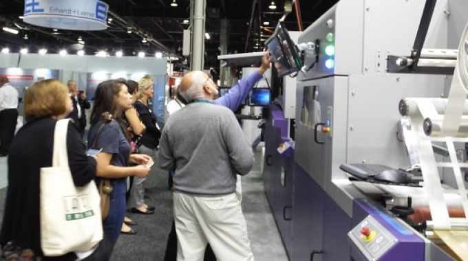 INX is now looking at the best way of bringing its NW340 UV inkjet digital label press to market, with potential partners being sounded out on the Labelexpo Americas 2018 show floor