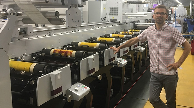 Orion Znakowanie Towarow, a print service provider in Wroclaw, has installed the first Mark Andy Evolution series flexo press in Poland