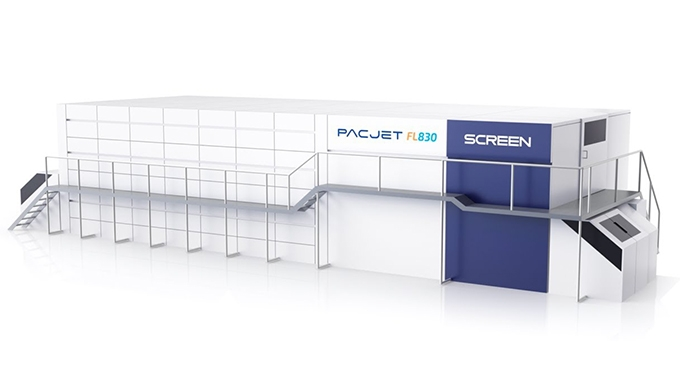 Screen to launch PacJet FL830, new high-speed, water-based inkjet system developed for flexible packaging in March 2021