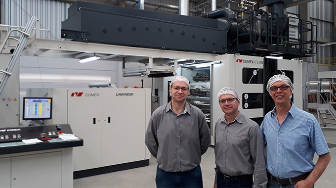 Pamplastic invests in Comexi F2 MB press