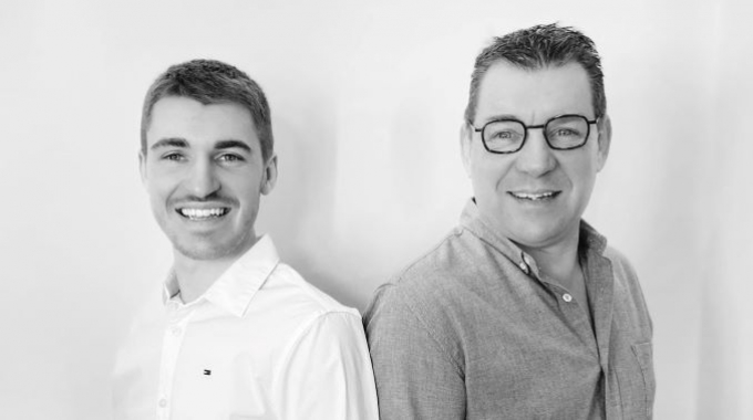 Pierre Langlois (L), consultant, and Bruno Langlois (R), owner, of BP2L Consulting
