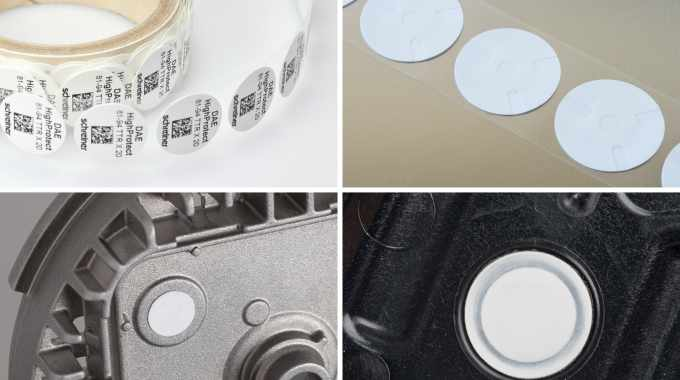 Various examples of Pressure Compensation Seals from Schreiner ProTech