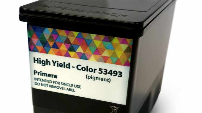 Pigment ink allows production of durable, UV-resistant labels using the Primera LX910e