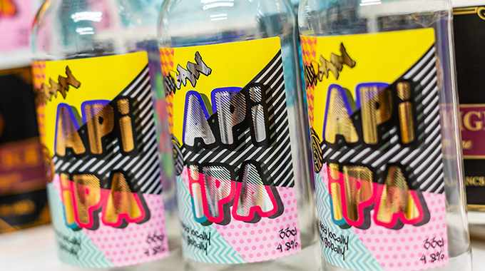 Pulse Roll Label Products' cold foil collaboration with API Group
