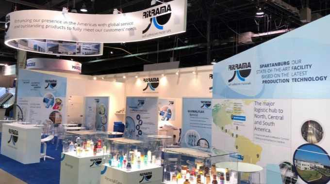 The Ritrama stand at Labelexpo Americas 2018