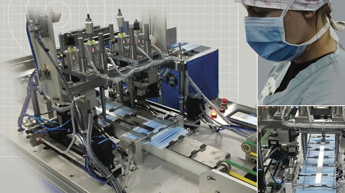 Rotocontrol launches Ecoline FM for face mask production