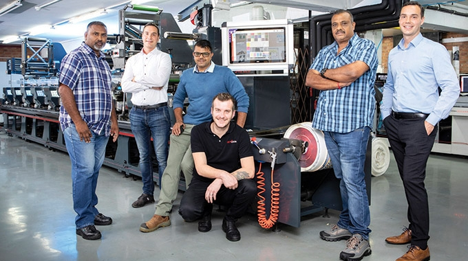 GTV Label Master has invested in South Africa's first Rotocon EcoLine RFP 340 flexo press and EcoLine Pro Mount plate mounter.