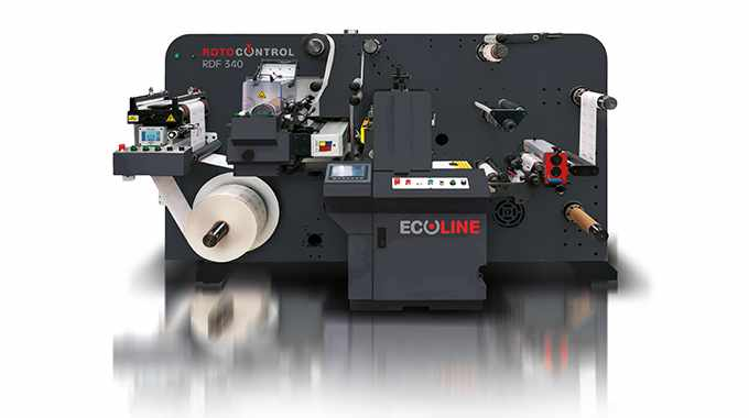 RotoControl's Ecoline RDF-340 is a customizable digital label converting system