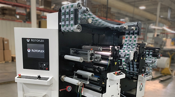 Artex Label & Graphics has invested in the recently launched Rotoflex DF1