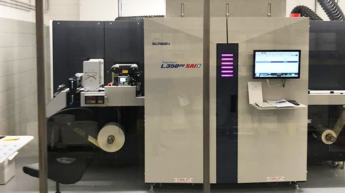 Grafiche Pradella has become the world's first printer to use Screen's new SAI technology to produce labels with enhanced color accuracy and vibrancy