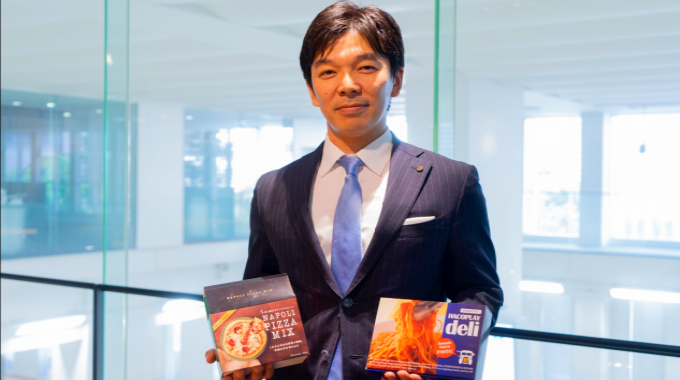 Kazuhiro Kajikawa, executive managing director Hacoplay division, Kyoshin Paper and Package is proud to produce folding cartons with the first Heidelberg Primefire 106 in Japan