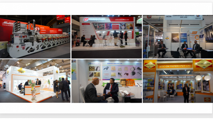 Some of the Indian exhibitors at Labelexpo Europe 2017