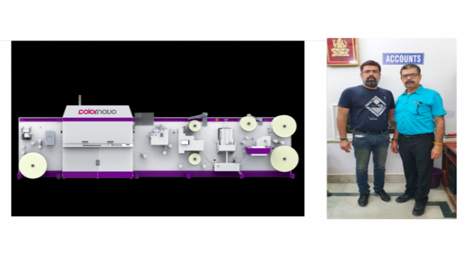 Monotech Systems has delivered the Jetsci Colornovo UV inkjet label production press to Maa Gayatri Offset Printer, a sister concern of The Hindustan Offset in Haridwar.