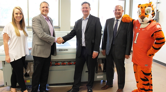 Fujifilm donates equipment for Sonoco Institute to better prepare students for the industry needs
