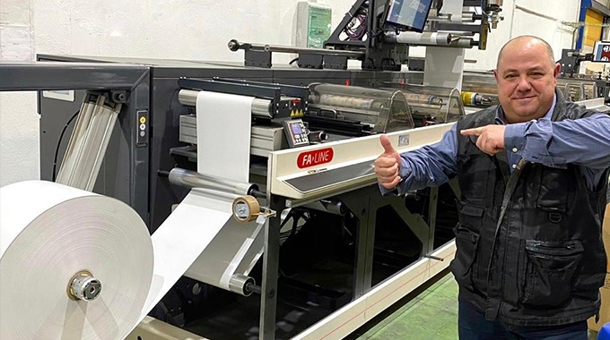 Sorma Ibérica installs Nilpeter FA-14 press to increase its production capabilities and print quality