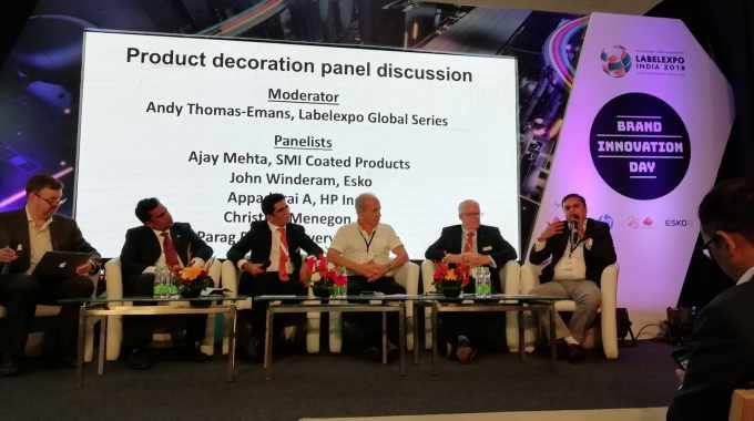 Supplier panel at Brand Innovation Day