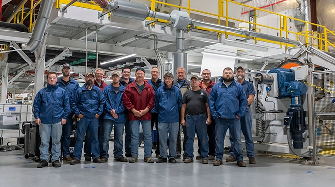 Taghleef Industries has installed a custom Davis-Standard liquid coating line at its facility in Terre Haute, Indiana, to support new markets in coated OPP films