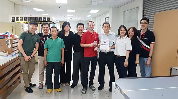 Malaysian converter increases productivity and reduces costs thanks to Flint Group nyloflex printing plates