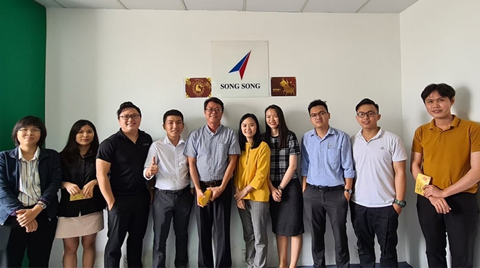 Song Song, one of the new Vetaphone agents in Asia