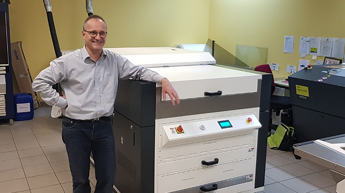 French Freppel Imprimeur has switched its flexo plates to Asahi CleanPrint AWP, water-wash plates