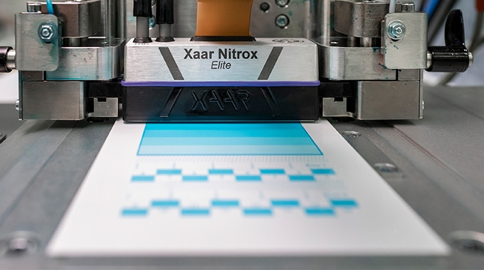 Meteor Inkjet and Global Inkjet Systems (GIS) have announced their support for the Xaar Nitrox printhead with a selection of comprehensive software and electronics for OEMs and integrators