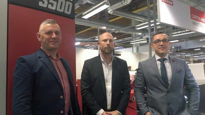 Xeikon and Technograph sign distributor agreement for dry toner presses in Poland