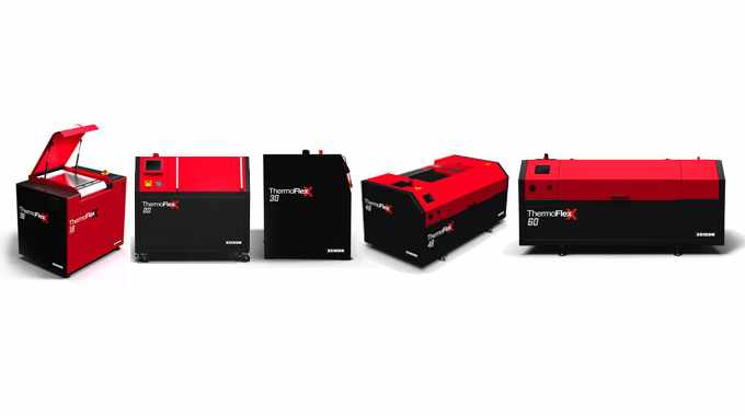 Current Xeikon ThermoFlexX digital imagers line