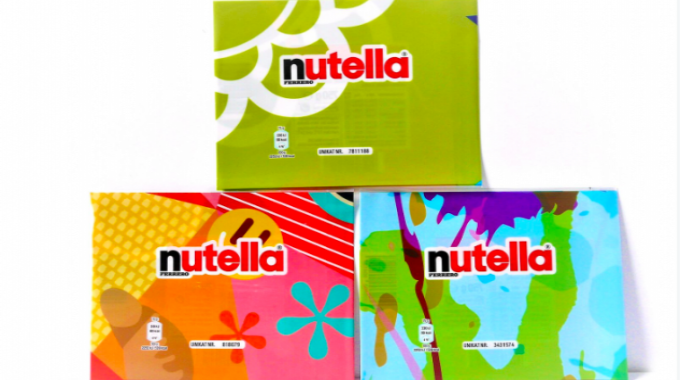 Variable data/limited edition (joint winners) : 'Nutella Unique' shrink sleeve label Sleever International