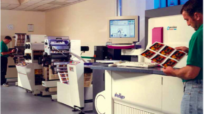 Indigo's Omnius press was launched in 1995