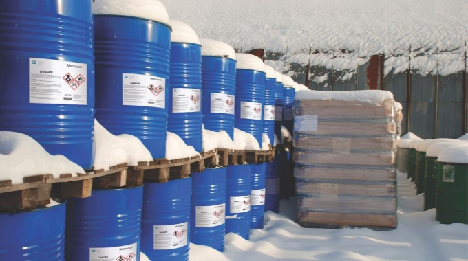 Synthetic labels stand up well to harsh shipping and environmental conditions
