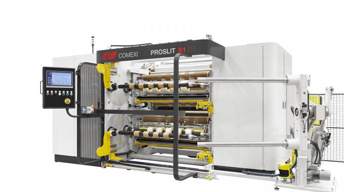 Comexi Group has developed a new double turret slitter rewinder, the Comexi Proslit S1 DT