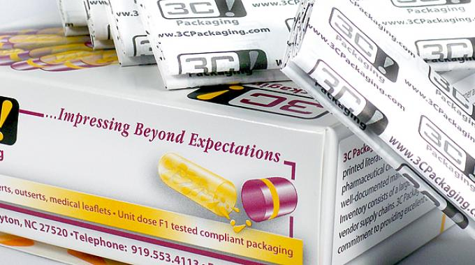 3C! Packaging manufactures a broad range of primary and secondary printed packaging components, primarily for pharmaceutical industry customers