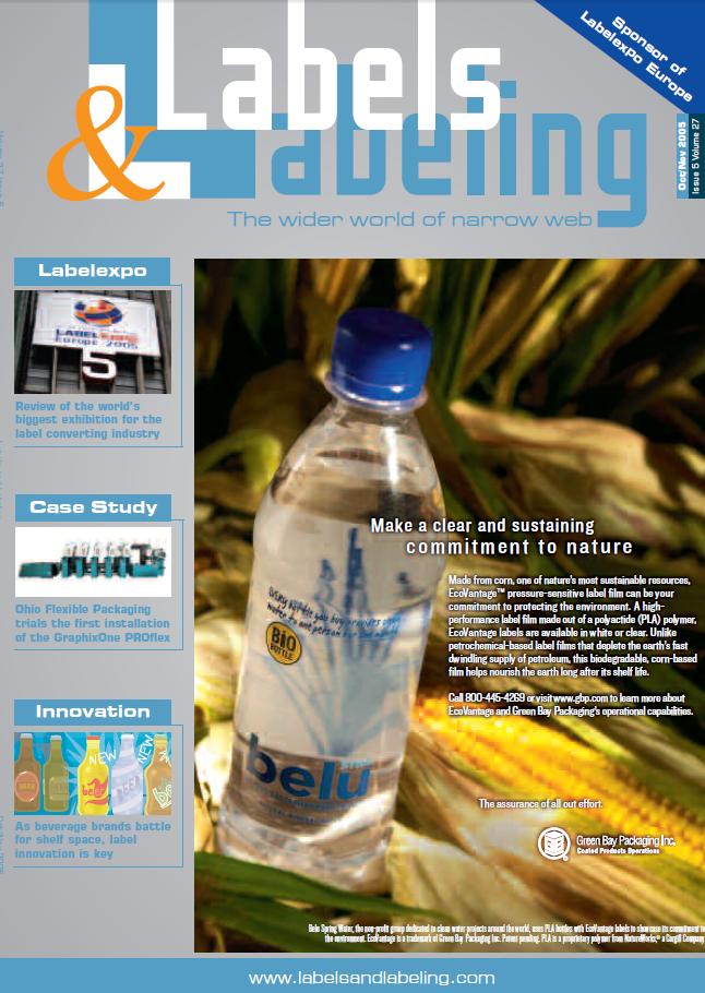 Labels & Labeling: Issue 5 - October / November 2005