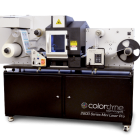 2800 Series Mini Laser Pro is described as a 'turnkey solution' designed for entry-level and mid-volume label production