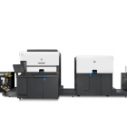 HP Indigo 6900 press with Pack Ready for Labels